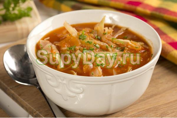 Пряный овощной суп для похудения