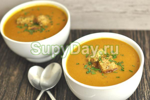 Диетический овощной крем-суп
