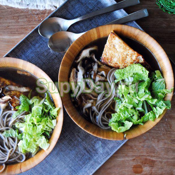 Овощной суп с лапшой для похудения