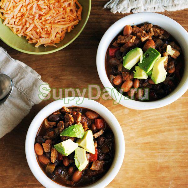 Пряный овощной суп Чили для похудения