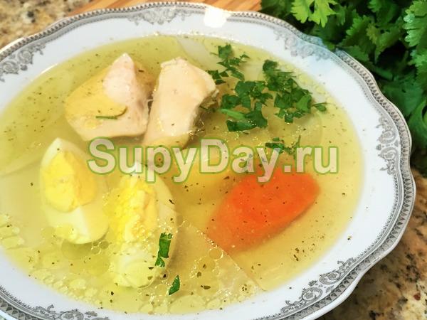 Классический рецепт диетического супа с куриным мясом