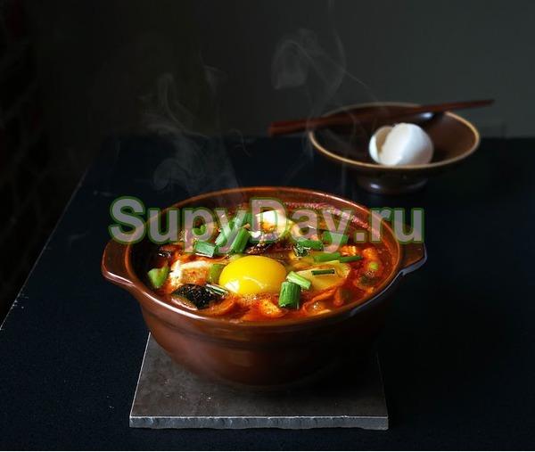 Острый Мисо-суп