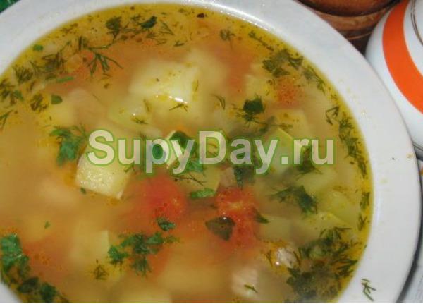 Кабачковый суп с картошкой классический