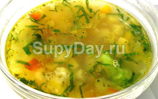 Кабачковый суп с картошкой в мультиварке