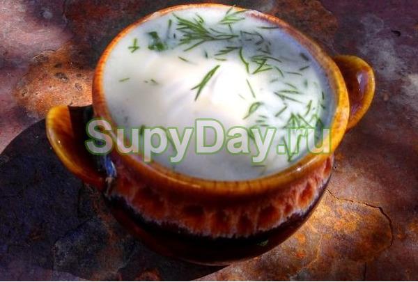 Остренький кабачковый суп с картошкой
